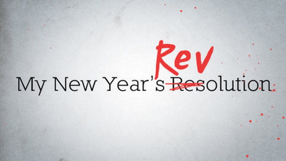 My New Year\'s Revolution