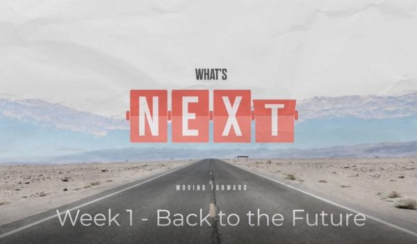 What's Next: Moving Forward