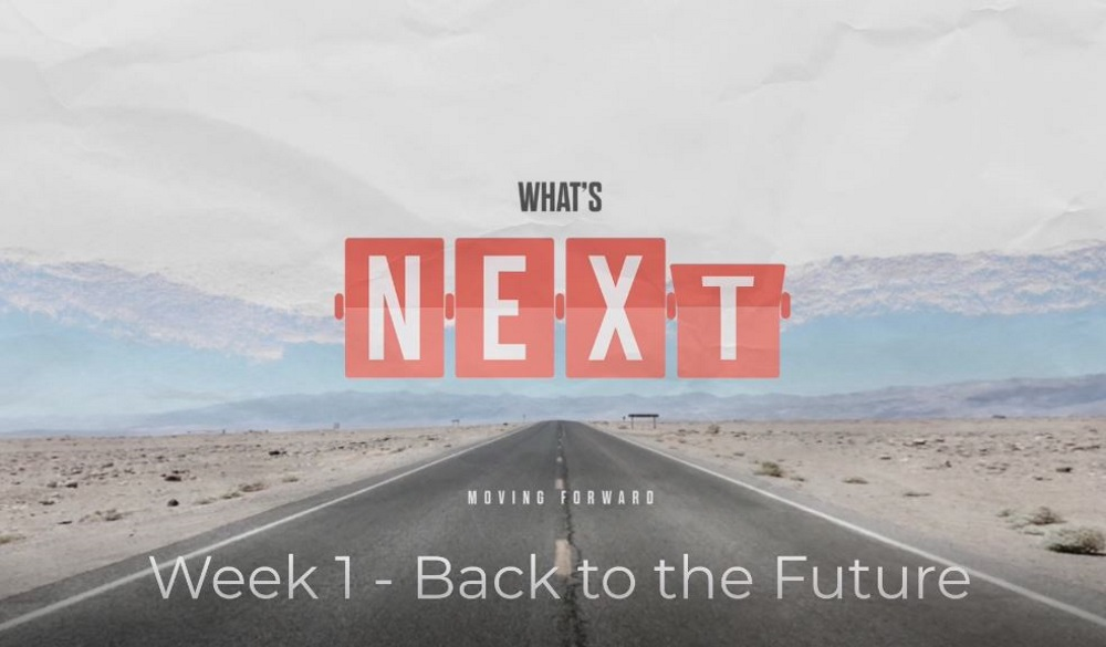 What\'s Next: Moving Forward